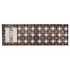 Pedrini LifeStyle-Mat Welcome Runner in Brown and Beige
