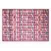 Pedrini LifeStyle-Mat Rectangles Rug, Multi-Coloured