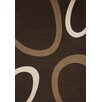 Lalee Dallas USA Coffee Brown Area Rug