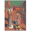 House Additions 'Le Muse Inquietanti' by DE Chirco Art Print Plaque