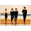 House Additions 'The Billy Boys' by Vettriano Art Print Plaque
