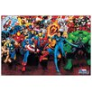 House Additions Supereroi Marvel Vintage Advertisement Plaque