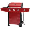 Royal Craft Classic 300 Gas Barbecue with Hood and Side Burner