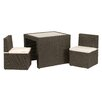 Royal Craft Cannes 2 Seater Bistro Set with Cushions