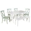 Beachcrest Home Medulla 6 Piece Dining Set