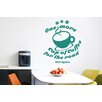 Cut It Out Wall Stickers Bob Dylan One More Cup of Coffee for the Road Wall Sticker