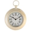 EMDÉ Shabby Elegance 20 cm Fob Round Wall Clock