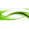 Pro-Art High Green Wave II Painting Print Glass Art