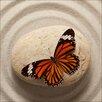 Pro-Art Glasbild Butterfly II, Kunstdruck