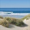 Pro-Art Glasbild Footprints In The Sand, Kunstdruck