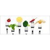 Pro-Art Vegetable and Fruit Wall Art on Glass