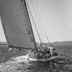 David & David Studio 'Sails Sepia 4' by Philippe David Framed Photographic Print