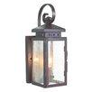 Elstead Lighting Wrought Iron 1 Light Outdoor Wall lantern