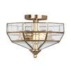 Elstead Lighting Old Park 2 Light Semi Flush Mount