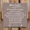 Factory4Home BD-Meine Tochter Typography Plaque Set in Taupe (Set of 2)