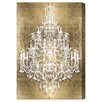 Oliver Gal 'Montecarlo Gold' Graphic Art Wrapped on Canvas