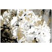 Oliver Gal 'Petals in the Wind' Graphic Art Wrapped on Canvas