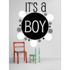 Design With Vinyl It's a Boy Wall Decal