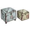 House Additions 2 Piece Trunk Set
