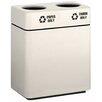 Alle Designs LLC Multi-Compartments Trash & Recycling Bin