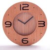 House Additions 30 cm Wooden 3D Clock