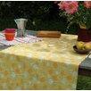 Fleur De Soleil 160 cm W x 160 cm D Square Wipe-clean Tablecloth