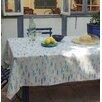 Fleur De Soleil Round Wipe-clean Tablecloth