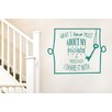 Cut It Out Wall Stickers What I Love Most About My Home Is Who I Share It With Wall Sticker