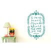 Cut It Out Wall Stickers Oscar Wilde To Live Is The Rarest Thing In The World Floral Wall Sticker