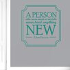 Cut It Out Wall Stickers Albert Einstein A Person Who Never Made A Mistake Never Tried Anything New Wall Sticker