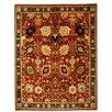 Ornate Carpets Agra Hand-Knotted Red Area Rug