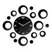 ModernClock Rings Analogue Wall Clock