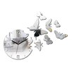 ModernClock Analoge Wanduhr Butterfly - Mirror