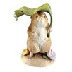 Beatrix Potter Timmy Willie Under Leaf Figure