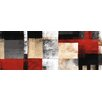 NEXT! BY REINDERS Square in Red Wall Art on Canvas