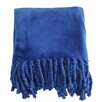 Soft Fringe Throw Blanket