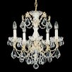Schonbek Century 5-Light Crystal Chandelier