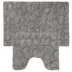 Sealskin Pebbles 2 Piece Bathmat Set
