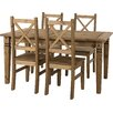 Home Loft Concept Jolie Dining Set with 4 Chairs