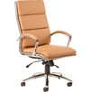 Home & Haus Alcatraz High-Back Leather Desk Chair