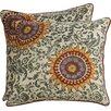 Charlton Home Forthill Cotton Throw Pillow (Set of 2)