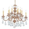Crystorama Oxford 12-Light Crystal Chandelier