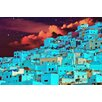 Salty & Sweet Hillside At Midnight Graphic Art on Canvas