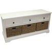 House Additions Upolu3 Drawer Storage Hallway Bench