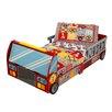 KidKraft Fire Truck Toddler Car Bed