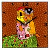 Goebel Hugs and Kisses Analogue Wall Clock