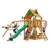 Gorilla Playsets Chateau II with Amber Posts Cedar Swing Set
