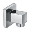 Belfry Bathroom Square Wall Outlet Elbow