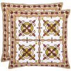 Safavieh Edward Cotton Throw Pillow (Set of 2)