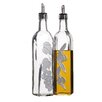 Kitchen Craft Italian Large Glass Oil and Vinegar Dispensers (Set of 2)